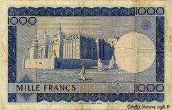 1000 Francs MALI  1960 P.09 TTB