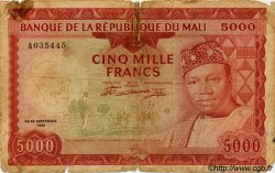 5000 Francs MALI  1960 P.10 AB