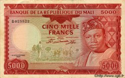 5000 Francs MALI  1960 P.10 TTB+