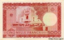 5000 Francs MALI  1960 P.10 SUP