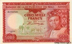 5000 Francs MALI  1960 P.10 SPL+