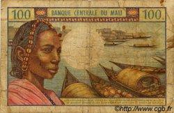 100 Francs MALI  1972 P.11 B