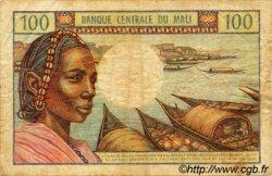 100 Francs MALI  1972 P.11 TB