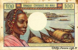 100 Francs MALI  1972 P.11 TTB+