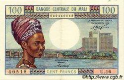 100 Francs MALI  1972 P.11 SUP