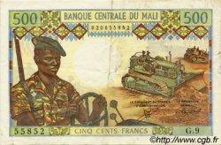 500 Francs MALI  1973 P.12b TTB+