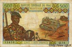 500 Francs MALI  1973 P.12d pr.TTB