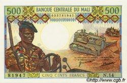 500 Francs MALI  1973 P.12d pr.NEUF