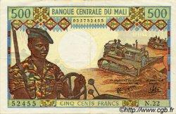 500 Francs MALI  1973 P.12e TTB
