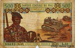 500 Francs MALI  1973 P.12f B