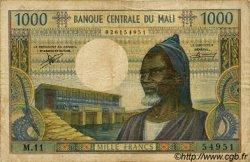 1000 Francs MALI  1973 P.13b pr.TB