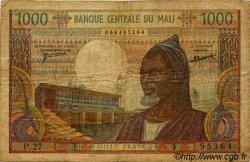 1000 Francs MALI  1973 P.13d B