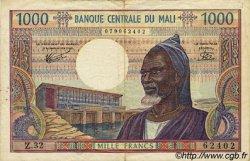 1000 Francs MALI  1973 P.13e TB+