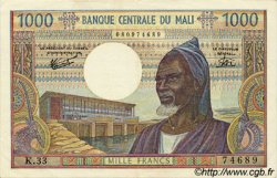 1000 Francs MALI  1973 P.13e SUP+
