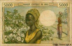 5000 Francs MALI  1973 P.14a B+