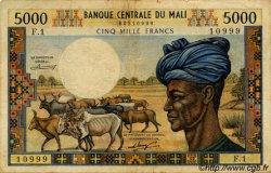 5000 Francs MALI  1973 P.14a TB