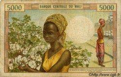 5000 Francs MALI  1973 P.14e B