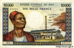10000 Francs MALI  1973 P.15g SUP