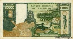 1000 Ouguiya MAURITANIE  1973 P.03a TTB+
