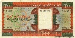 200 Ouguiya MAURITANIE  1985 P.05b TTB
