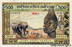 500 Francs type 1957, modifié 1961 AFRIQUE OCCIDENTALE FRANÇAISE (1895-1958)  1957 P.--s pr.NEUF