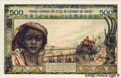 500 Francs type 1957, modifié 1961 ÉTATS DE L