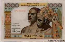 1000 Francs type 1960 AFRIQUE OCCIDENTALE FRANÇAISE (1895-1958)  1960 P.--s SUP
