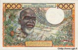 1000 Francs type 1960 AFRIQUE OCCIDENTALE FRANÇAISE (1895-1958)  1960 P.--s NEUF