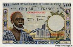 5000 Francs type 1960 AFRIQUE OCCIDENTALE FRANÇAISE (1895-1958)  1960 P.--s pr.NEUF
