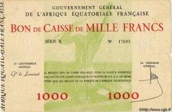 1000 Francs AFRIQUE ÉQUATORIALE FRANÇAISE  1940 P.04 TB+