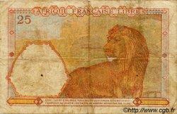 25 Francs AFRIQUE ÉQUATORIALE FRANÇAISE  1943 P.07a TB