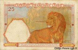 25 Francs AFRIQUE ÉQUATORIALE FRANÇAISE  1943 P.07a TTB