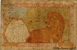 25 Francs AFRIQUE ÉQUATORIALE FRANÇAISE  1943 P.07a AB
