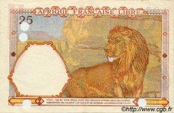 25 Francs AFRIQUE ÉQUATORIALE FRANÇAISE  1943 P.07a pr.SUP