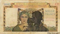 1000 Francs AFRIQUE ÉQUATORIALE FRANÇAISE  1942 P.09s TB