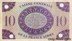 10 Francs type 1941 AFRIQUE ÉQUATORIALE FRANÇAISE  1943 P.11s TTB