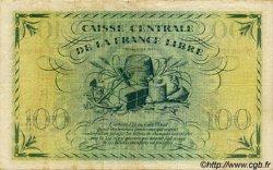 100 Francs AFRIQUE ÉQUATORIALE FRANÇAISE Brazzaville 1945 P.13a TB à TTB