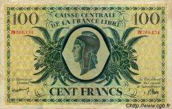 100 Francs type 1941 AFRIQUE ÉQUATORIALE FRANÇAISE  1945 P.13a TTB