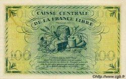 100 Francs type 1941 AFRIQUE ÉQUATORIALE FRANÇAISE  1945 P.13a SUP+