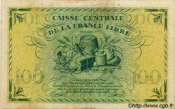 100 Francs type 1941 AFRIQUE ÉQUATORIALE FRANÇAISE  1946 P.13a TTB