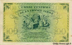 100 Francs type 1941 AFRIQUE ÉQUATORIALE FRANÇAISE  1944 P.13a TTB