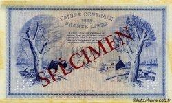 1000 Francs Phénix type 1941 AFRIQUE ÉQUATORIALE FRANÇAISE  1945 P.14s1 TTB