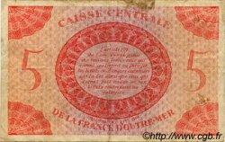 5 Francs type 1943 AFRIQUE ÉQUATORIALE FRANÇAISE  1943 P.15c TB+