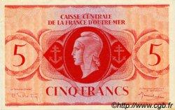 5 Francs type 1943 AFRIQUE ÉQUATORIALE FRANÇAISE  1943 P.15c pr.SPL