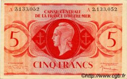 5 Francs type 1943 AFRIQUE ÉQUATORIALE FRANÇAISE  1943 P.15d SUP+