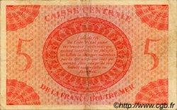5 Francs type 1943 AFRIQUE ÉQUATORIALE FRANÇAISE  1943 P.15g TB