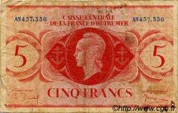 5 Francs type 1943 AFRIQUE ÉQUATORIALE FRANÇAISE  1943 P.15a B+