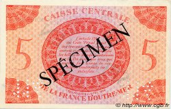 5 Francs AFRIQUE ÉQUATORIALE FRANÇAISE  1943 P.15as SUP
