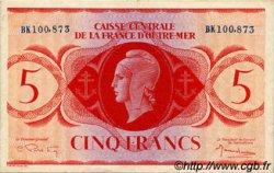 5 Francs AFRIQUE ÉQUATORIALE FRANÇAISE  1943 P.15b TTB