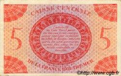 5 Francs type 1943 AFRIQUE ÉQUATORIALE FRANÇAISE  1943 P.15b SUP